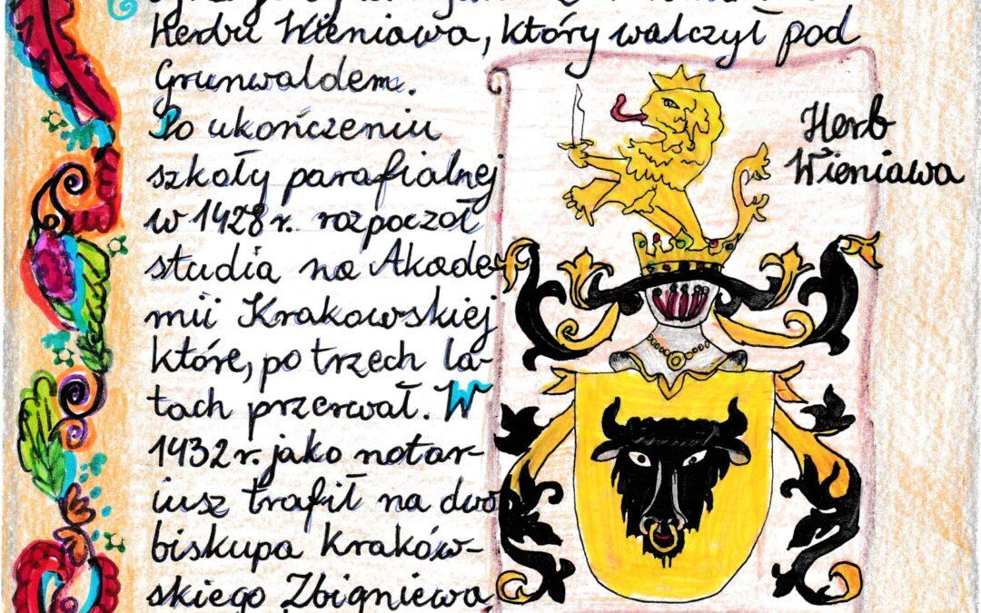 Czwartoklasiści jako średniowieczni kronikarze